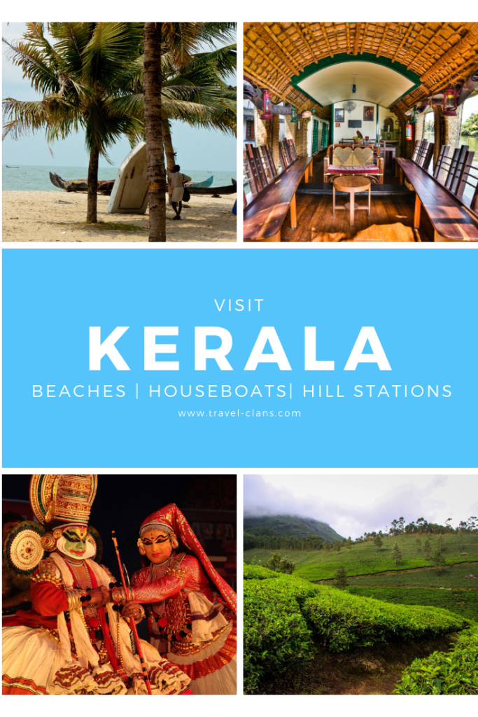 Visit Kerala to Experience Beaches, Houseboats and Hill Stations Pin