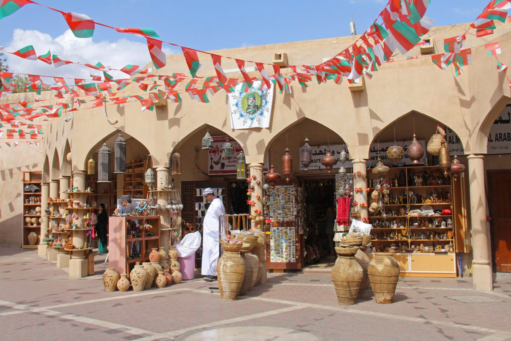 Local shops selling traditional goods