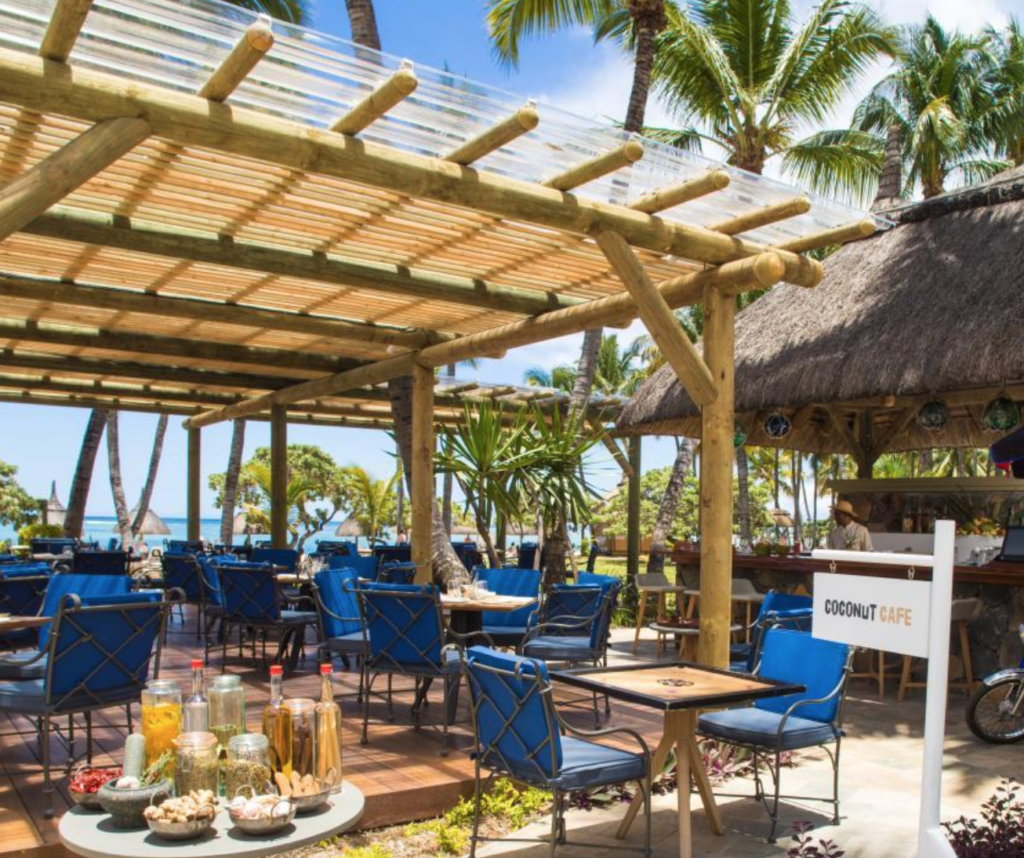 The Coconut Cafe at La Pirogue, A Sun Resort