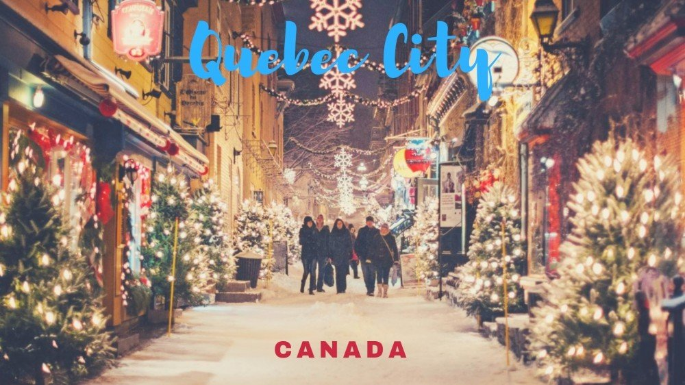 Christmas in Quebec Canada