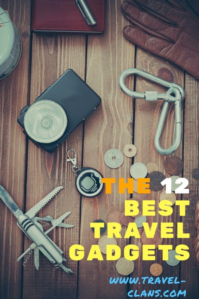 The 12 Best Travel Gadgets Pin