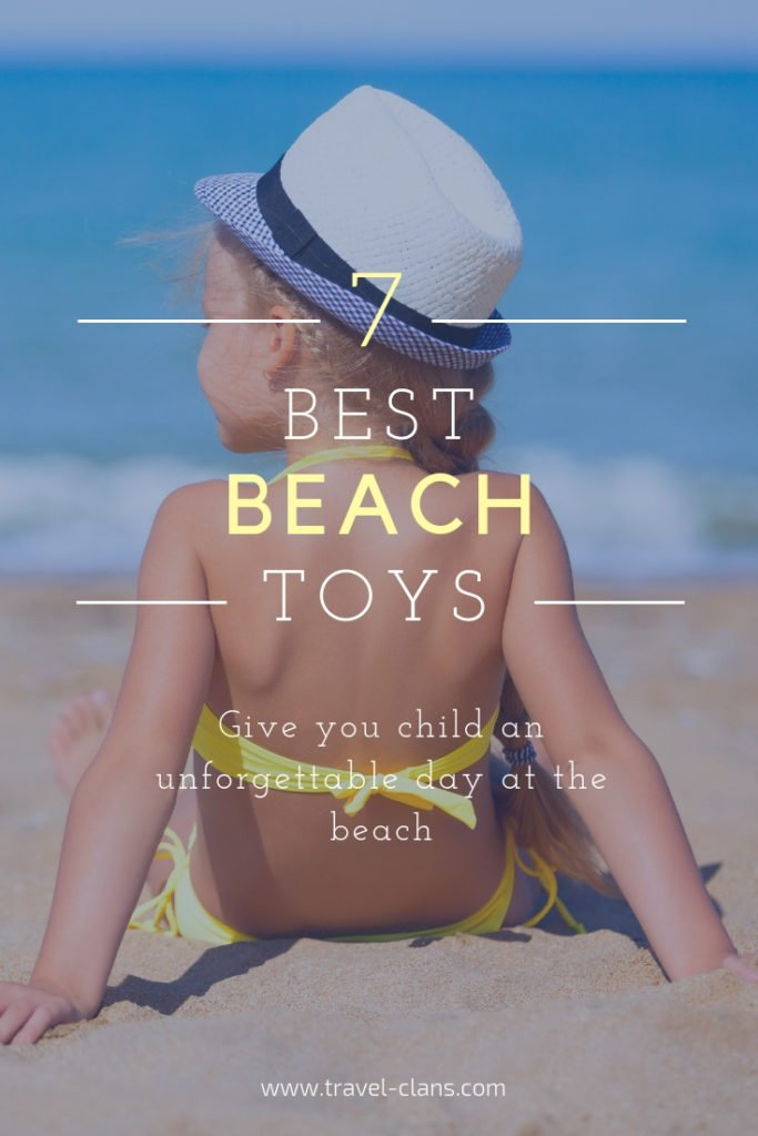 7 Best Beach Toys Pin