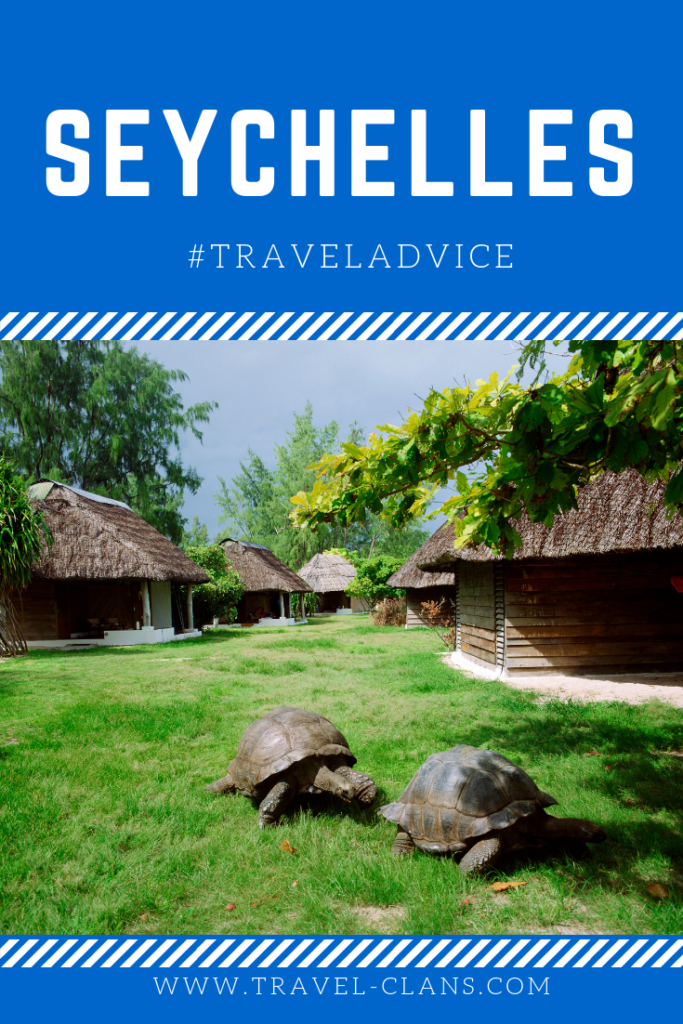 Travel Advice for the Seychelles Pin