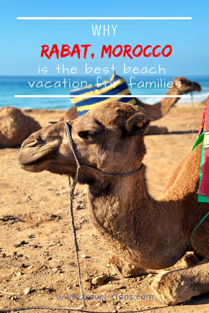 Why Rabat is one of the best beach vacations for families #travelclans #bestbeach #beachvacation #Morocco