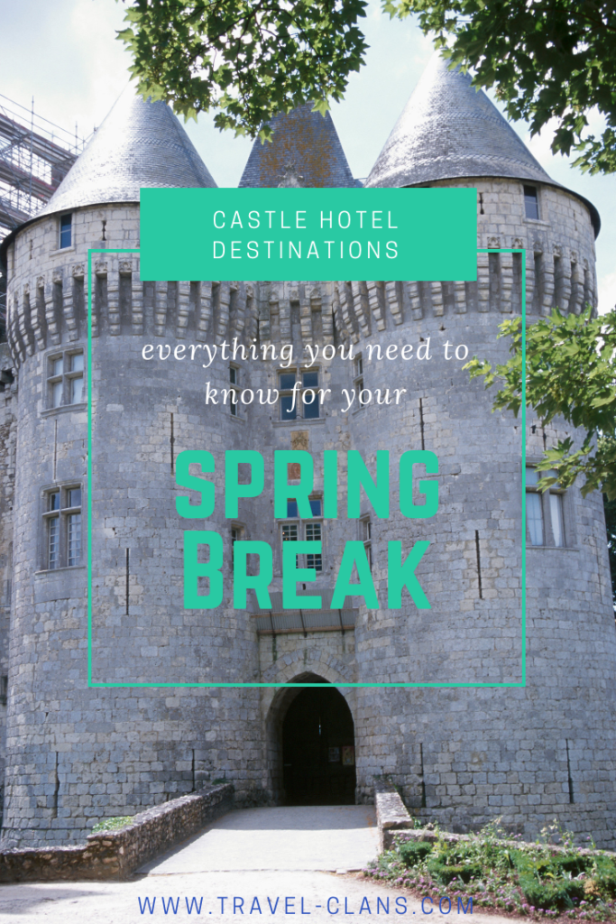 Beautiful Castle Hotel Destinations in Ireland, Scotland and England #travelclans #castles #SpringBreak #Ireland #Scotland #England