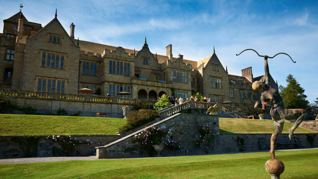 Bovey Castle Hotel in Dartmoor National Park, England