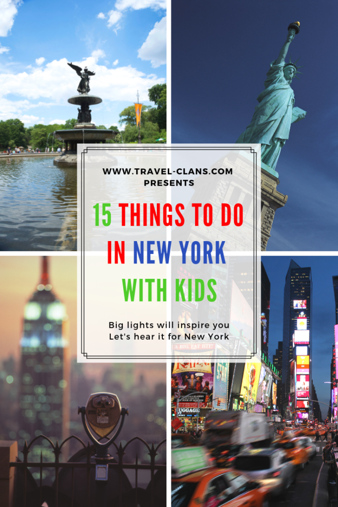 15 things to do in New York with kids #travelclans #newyork #thingstodo #wanderlust #adventureseeker #doyoutravel #travelmore #goexplore #wonderfulplaces #openmyworld #lovetotravel #adventurethatislife #roamtheplanet #seekmoments #momentsofmine #postcardsfromtheworld