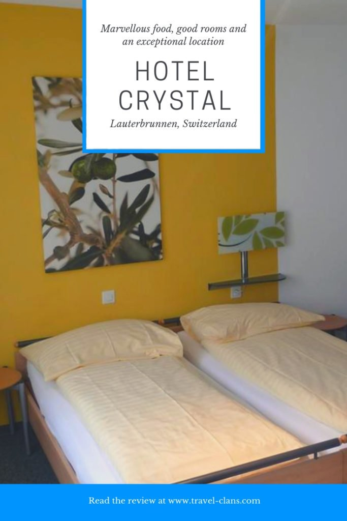 Hotel Review of Hotel Crystal in Lauterbrunnen, Switzerland - Why you should stay at Hotel Crystal #travelclans #hotelreview #lauterbrunnen #switzerland