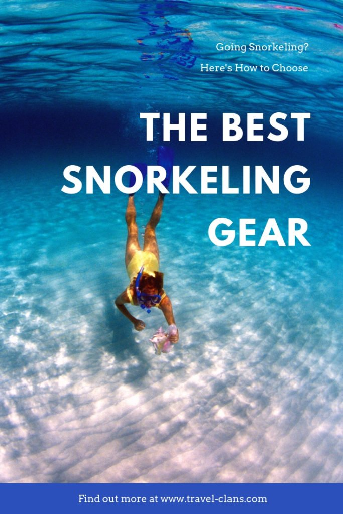 Here's how to choose the Best Snorkeling Gear for you. #travelclans #beachbum #tropicalisland #lovetheocean #foreversummer #snorkel #snorkeling