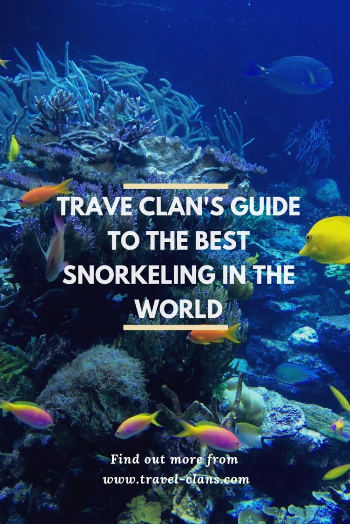 Travel Clans' 10 Best Places to Snorkel in the World. #travelclans #snorkel #snorkeling #seekmoments  #postcardsfromtheworld #photographyislifee #getoutstayout #optoutside #beachbum #tropicalisland #lovetheocean #foreversummer