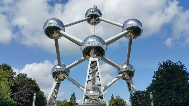 Atomium the Icon of Brussels #travelclans #Brussels #Atomium #ThingstoDo