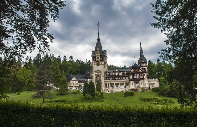 Peles Palace in Transylvania #travelclans #transylvania #Celebrate Halloween #Halloween #Halloween2019 #Peles