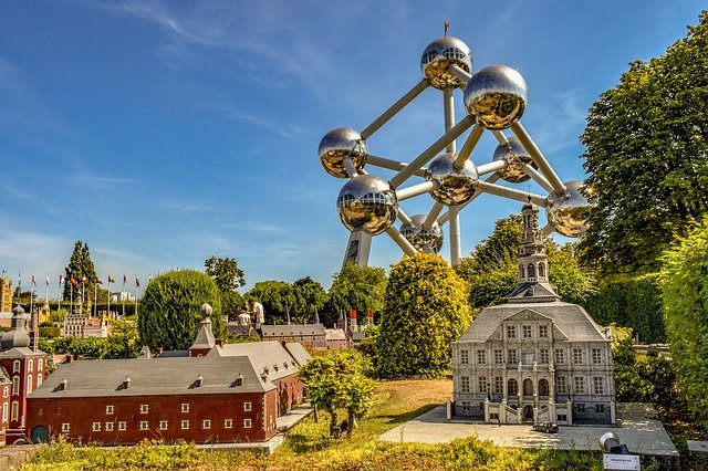 Mini Europe - Miniature Model Park In Brussels, Belgium #travelclans #Brussels #MiniEurope #ThingstoDo