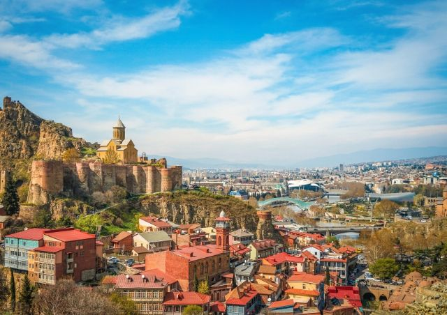 Tbilisi, Georgia  which is 1 of the Top 20 Budget Travel Destinations in 2020 #travelclans #Georgia #Tbilisi #BudgetTravel #Travel #Destinations