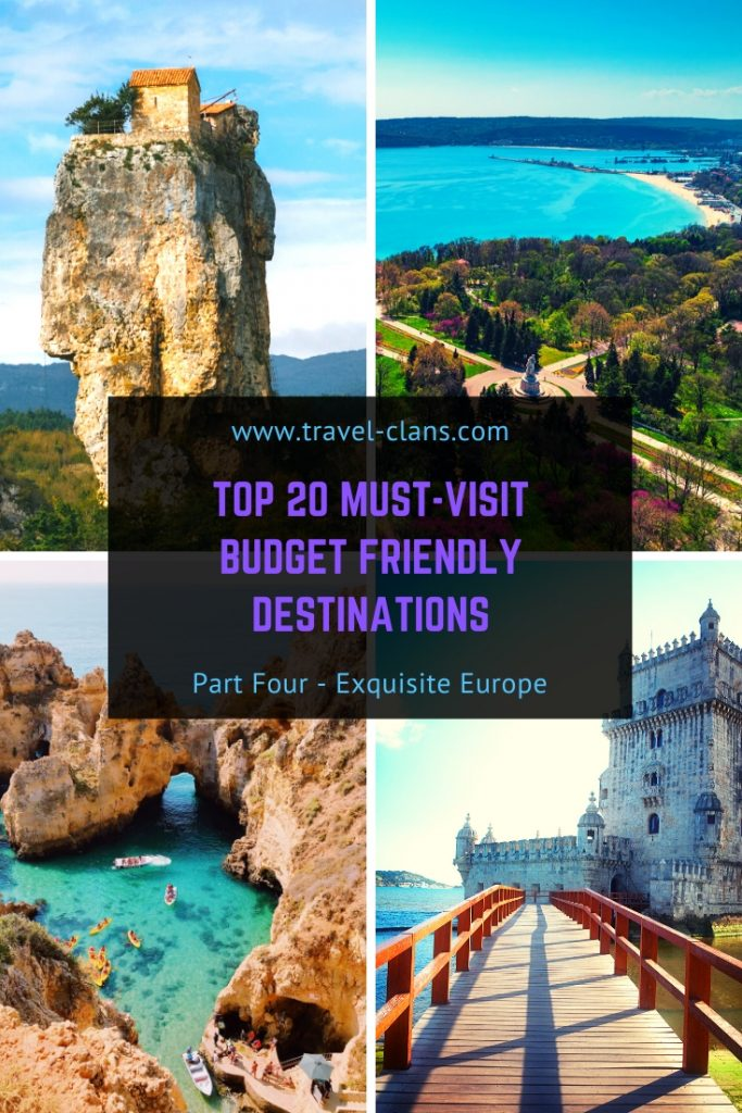 Escape to these 6 European Countries if you are looking for a Budget Friendly Destinations in 2020. #travelclans #BudgetTravel #Travel #Destinations #Armenia #Georgia #Romania #Bulgaria #Malta #Portugal