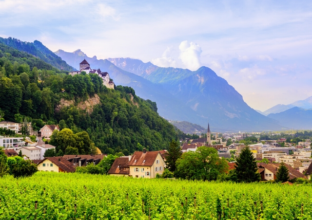 Vaduz, the tiny capital of Liechtenstein is in out Top 10 Summer Vacations Destinations for Families