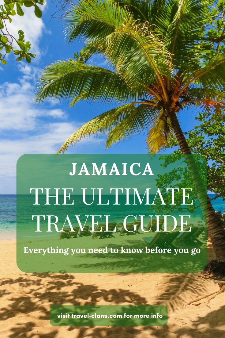 Find out everything you need to know before you visit Jamaica with The Ultimate Travel Guide For Jamaica #travelclans #Jamaica #TravelGuide
