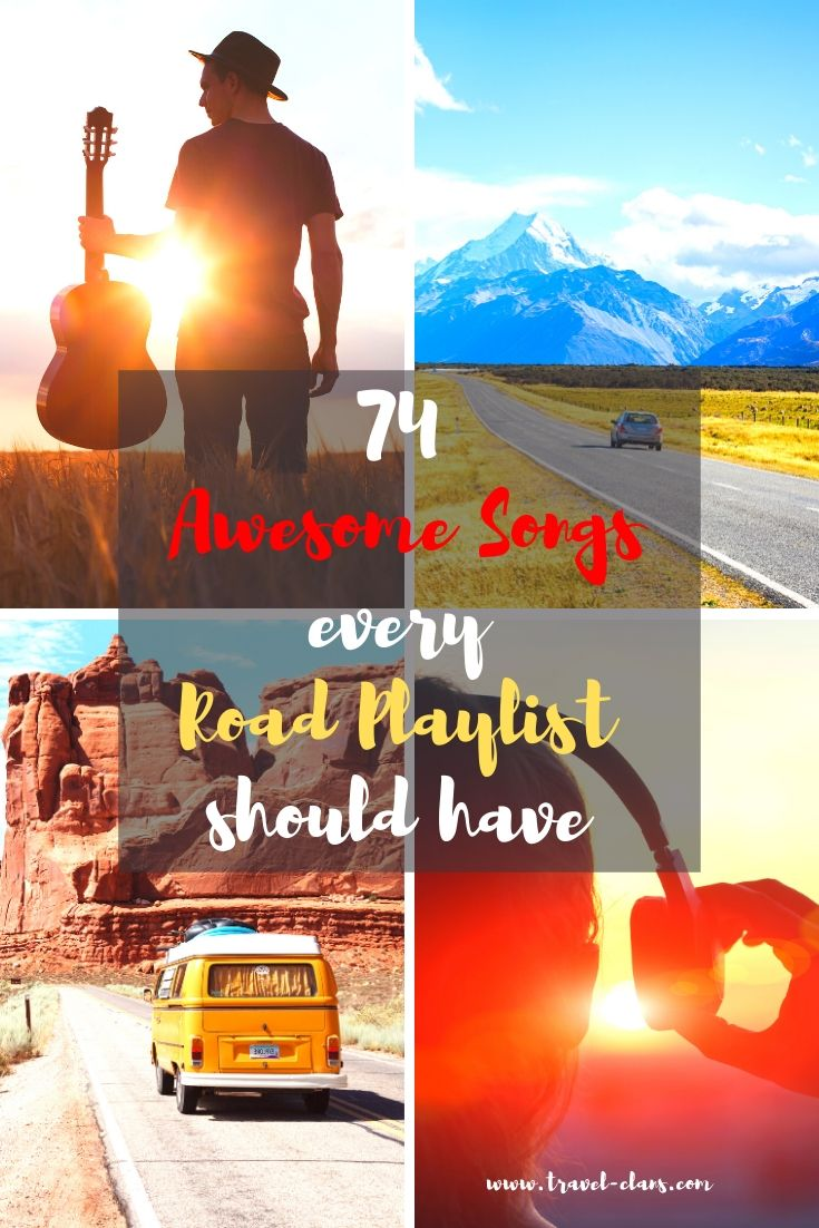 The list covers anthems, singalongs, backseat blasting and songs that make you just dance. #travelclans #roadtrip #musicplaylist