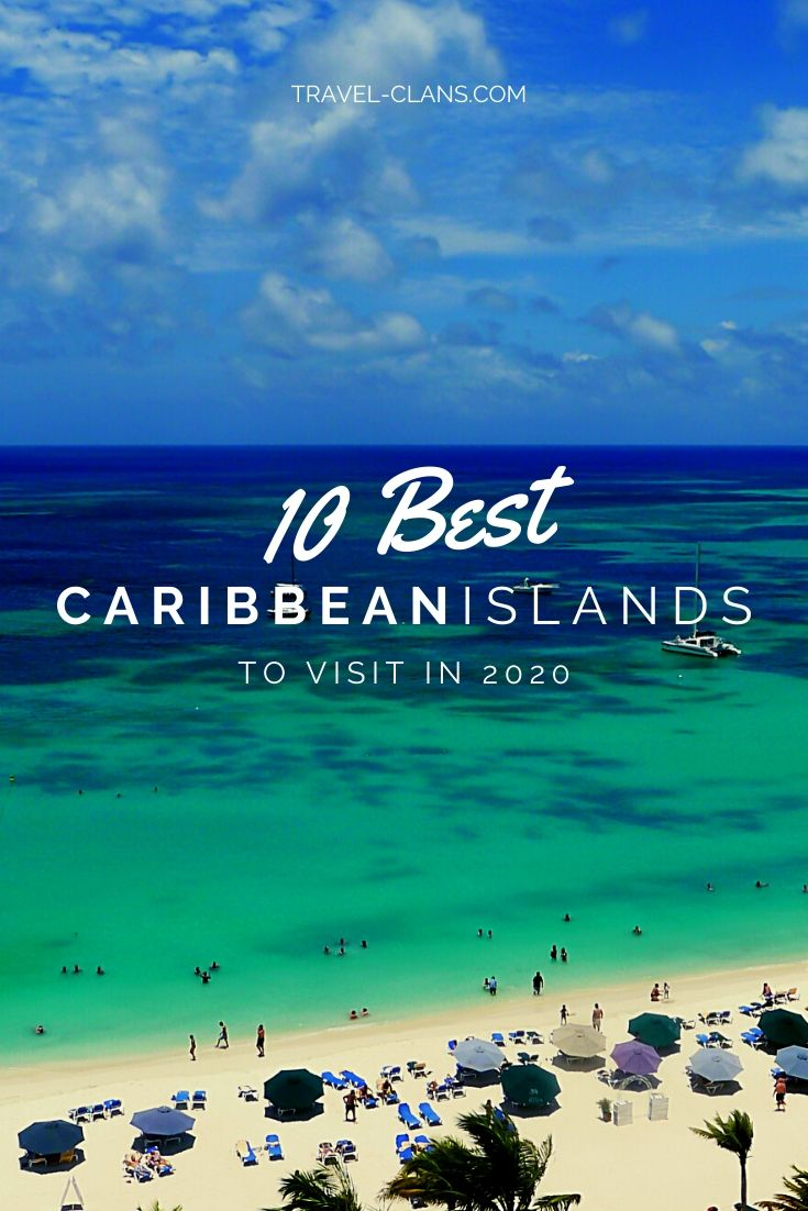 Escape to these tropical islands and watch the world's problems melt away #travelclans #Caribbean #TropicalIslands #Beach