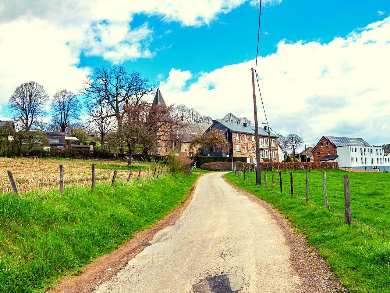 A small town outside Malmedy