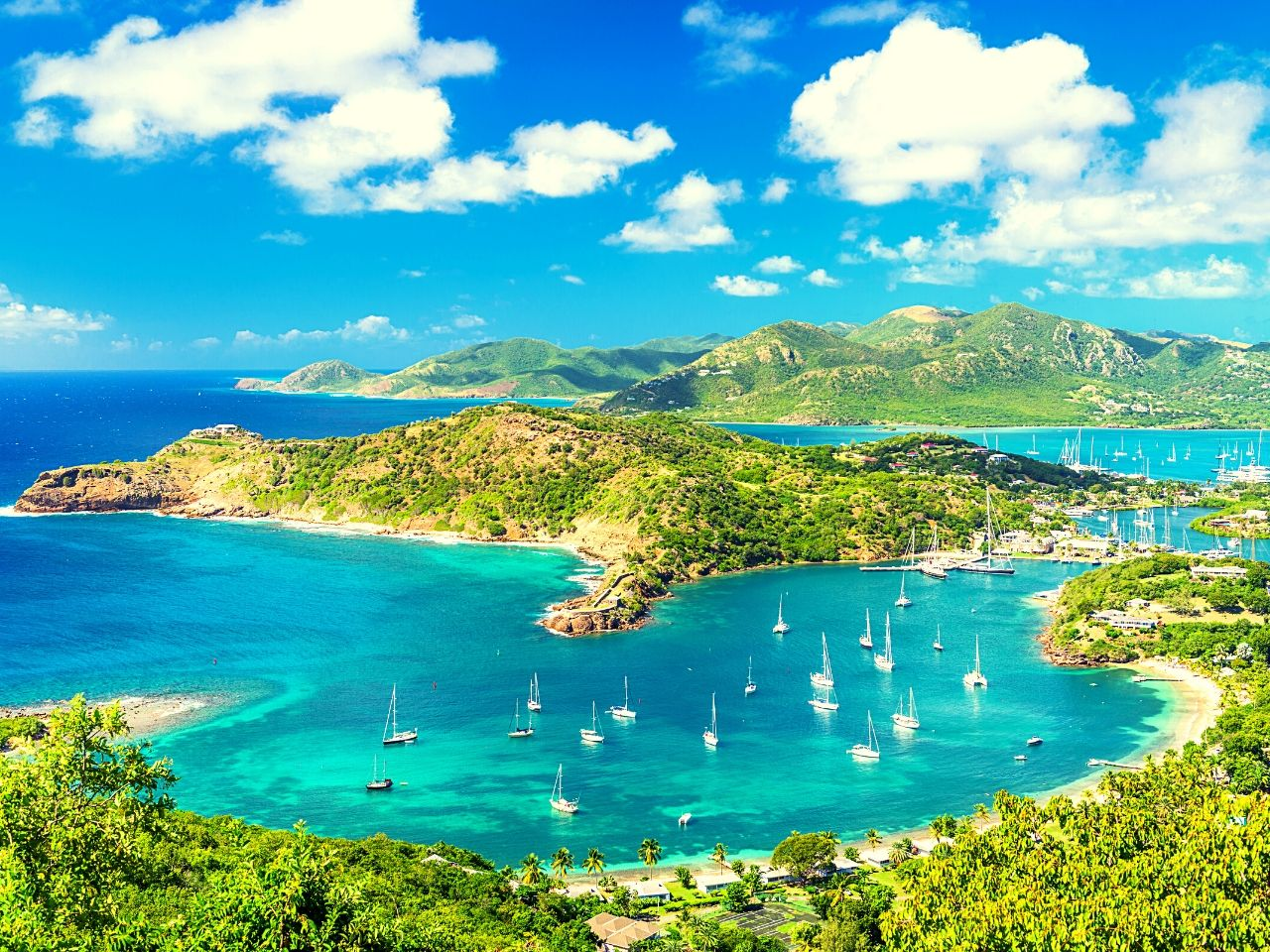 Caribbean islands Antigua & Barbuda is known as the land of 365 beaches #travelclans #beaches #caribbean