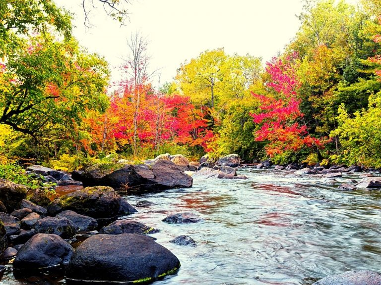 Quebec, Canada in the fall
