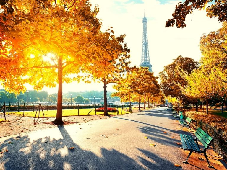 Paris, France in the Autumn