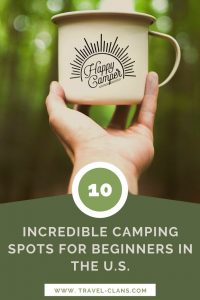 Best Places to Camp for Beginners in the U.S.